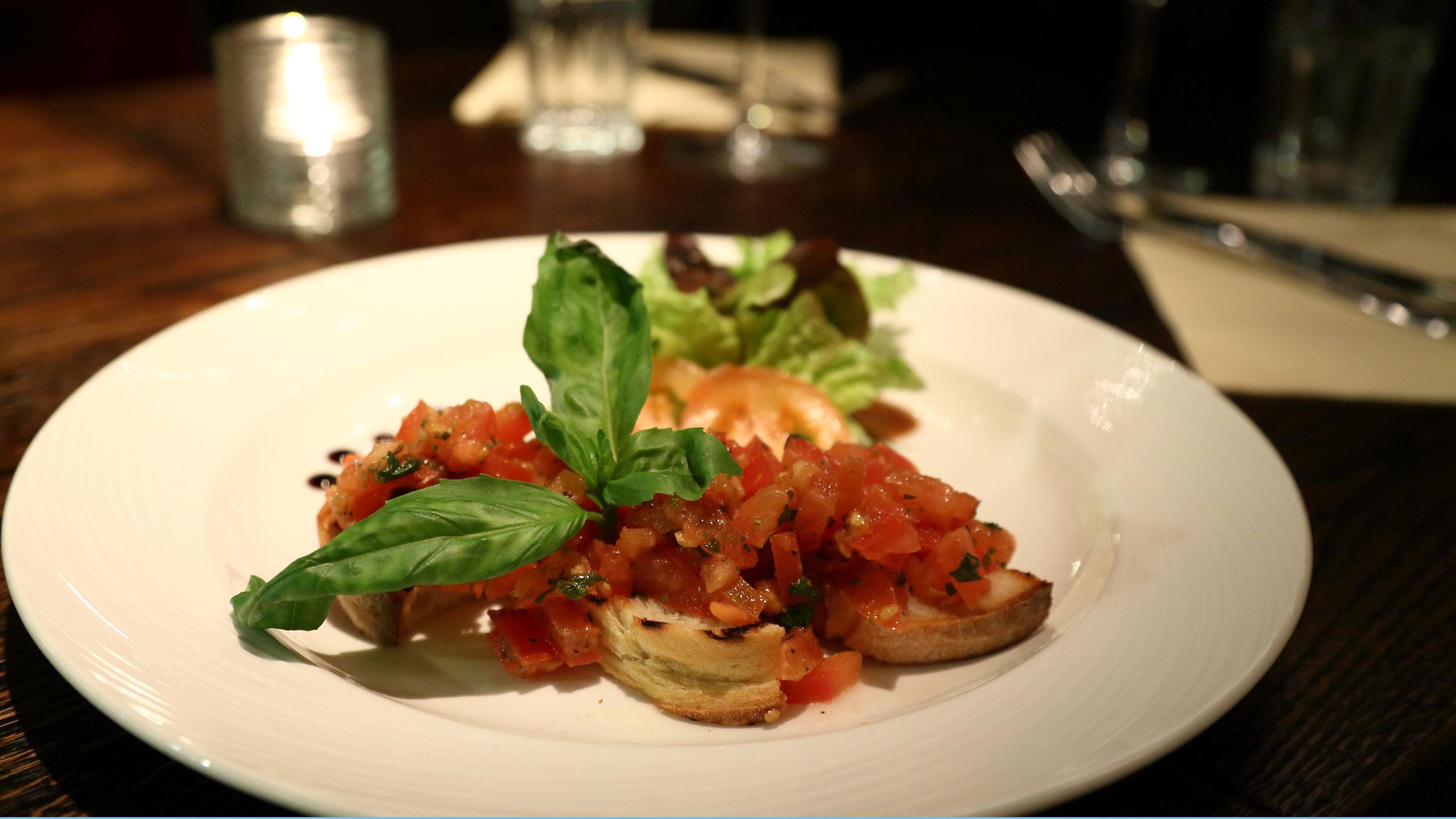 Menu For Benvenuti Restaurant